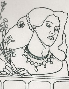 fair rosamund outline