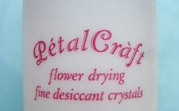 dried flower desiccant sand