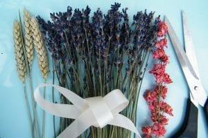 dried flower bunch equipment