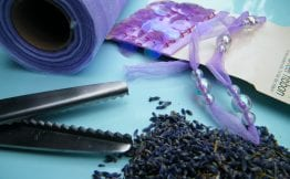 no sew lavender bag equipment