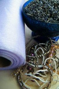 no sew no tie lavender bag equipment