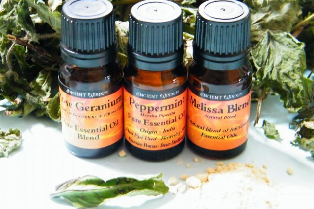 potpourri recipe add oils to dried leaves