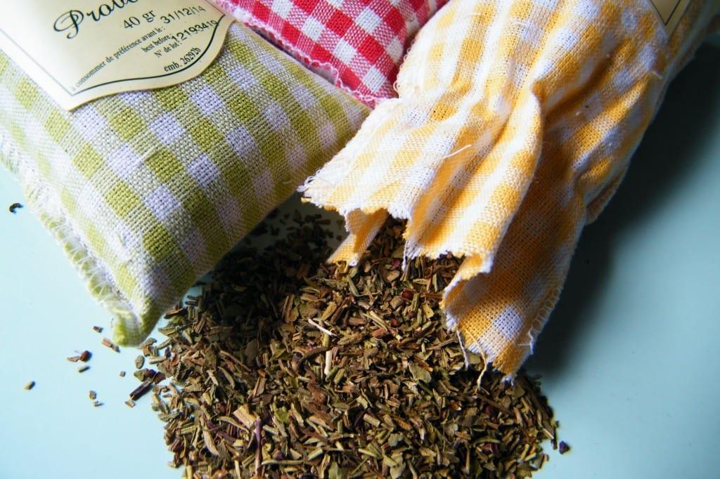 herbs de provence close up