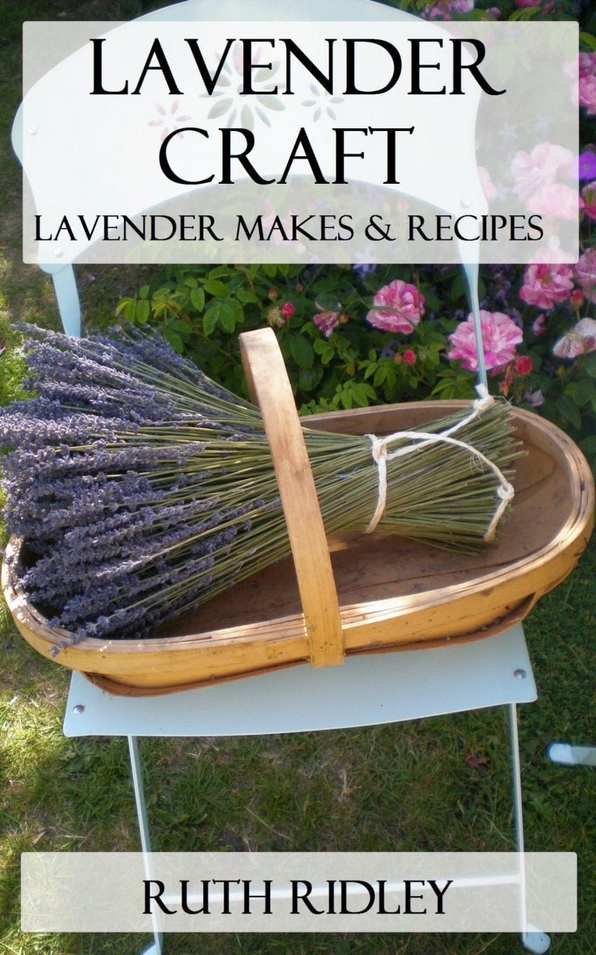 lavender craft book cover