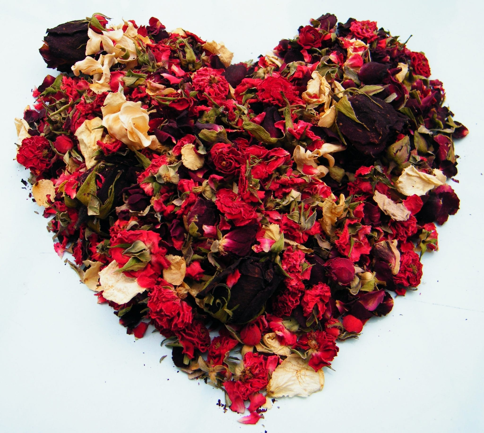 Sweetheart Potpourri Recipe With Dried Rose Buds And
