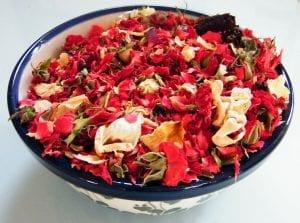 dried flower potpourri