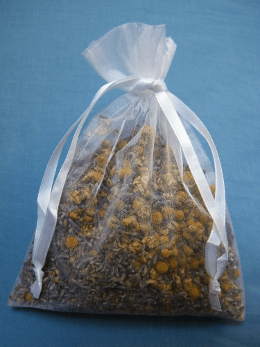 dried chamomile flowers sleep bag dried lavender