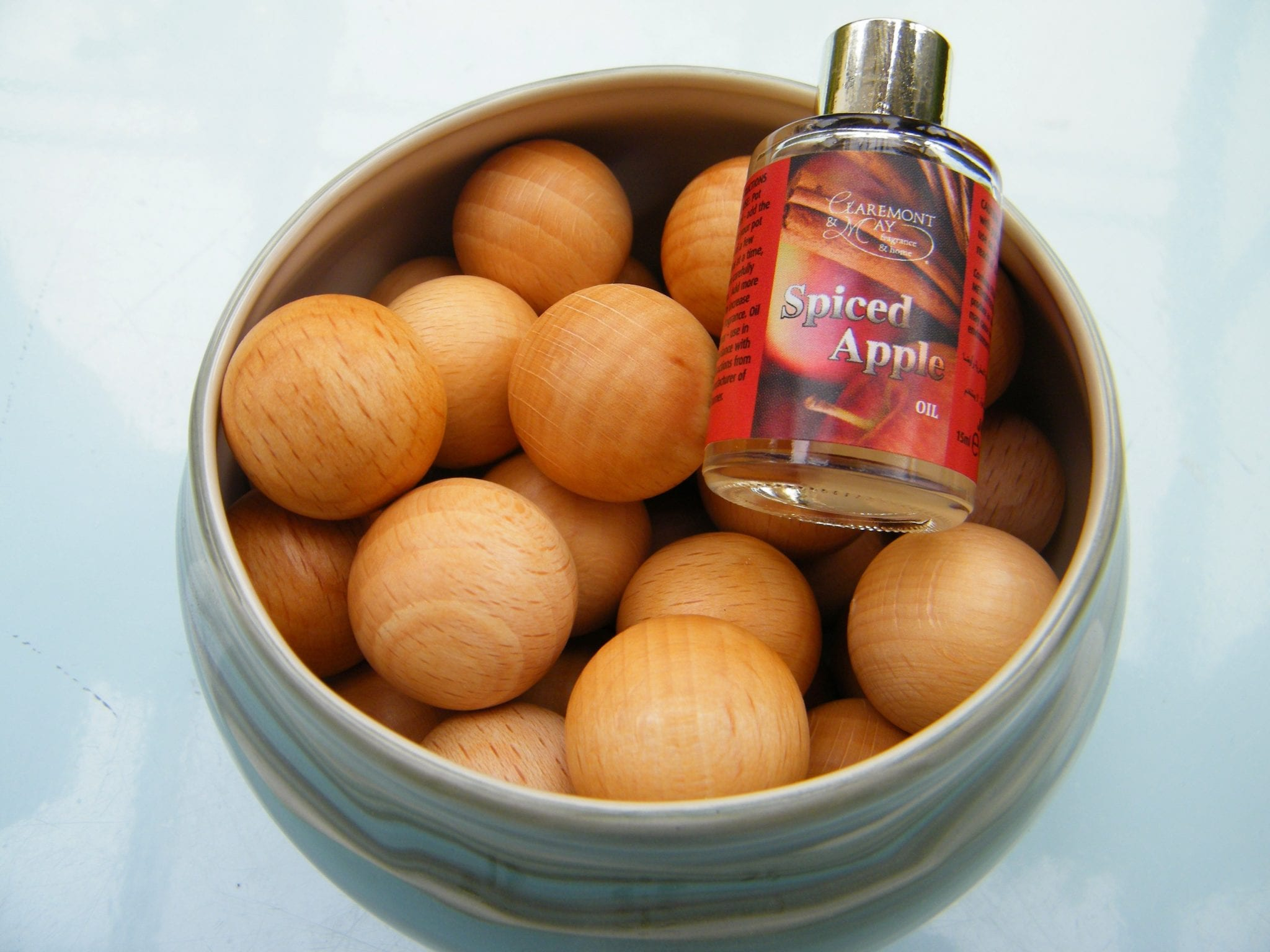 scented wooden balls