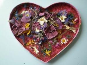 I heart dried flowers