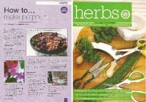 herbs potpourri article