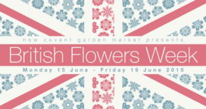 British Flowers Week Flag