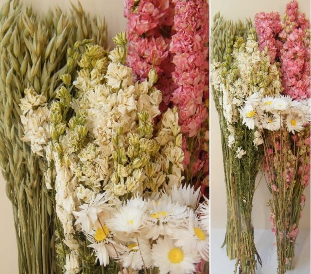pink dried flowers diy dried flower bouquet