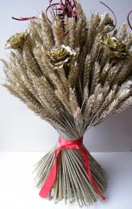 festive wheat sheaf