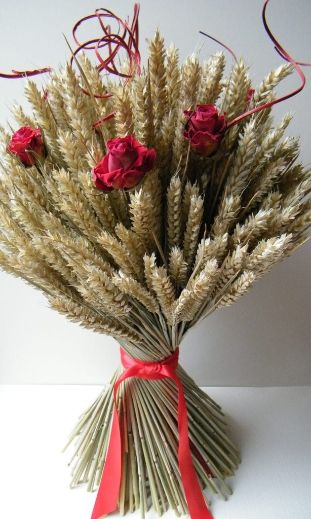 rose wheat sheaf