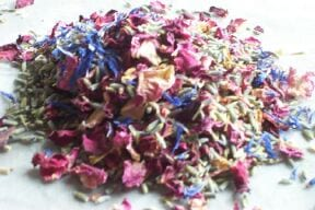 cornflower mix dried petals