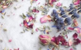 dried flower craft dried lavender rose petals