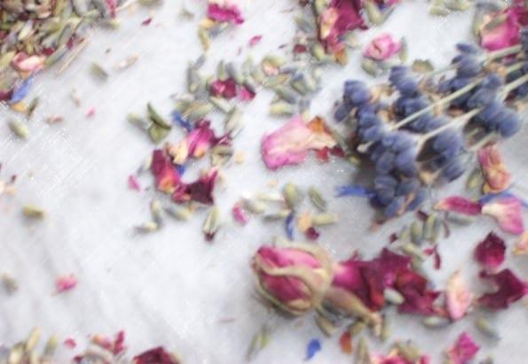 dried flower craft dried lavender rose petals