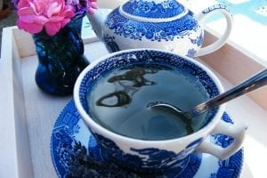 lavender tisane cup