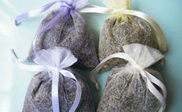 dried lavender bag