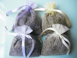 organza lavender bags