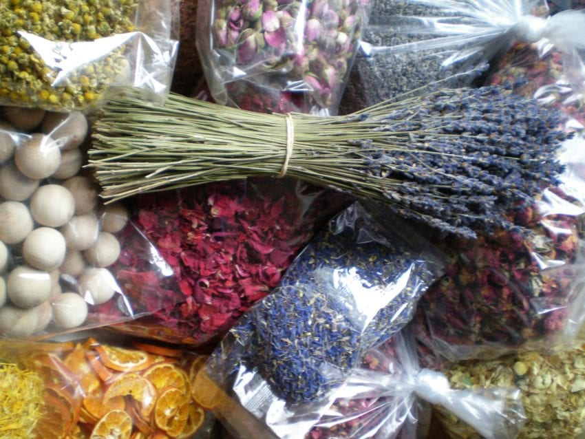 dried flower shop