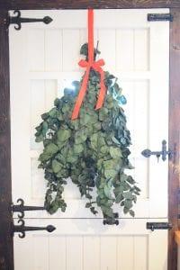 festive foliage door