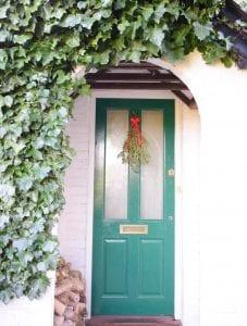 foliage bunch door