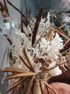 big ruscus arrangement