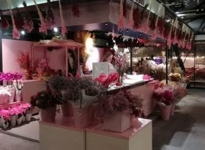 indoor florist stall