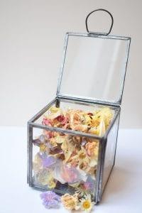 handmade potpourri casket
