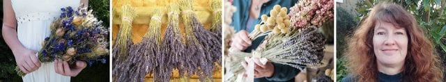 dry lavender floristry bunches stems bouquets