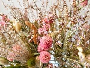 dried bottle flowers