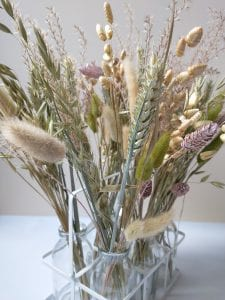 dried floristry grasses