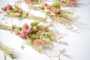spring dry posies clover